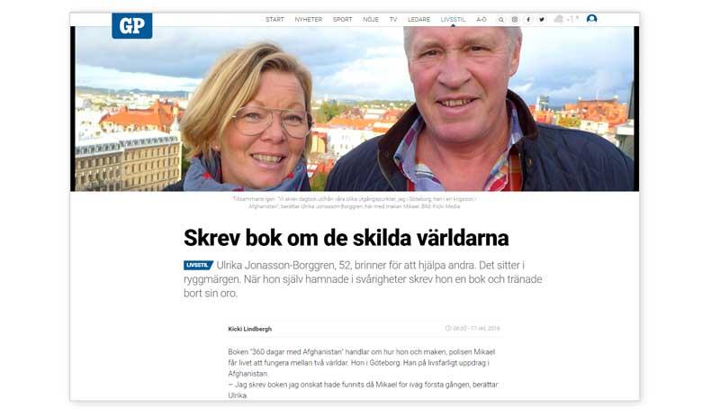 Artikeln i Göteborgsposten